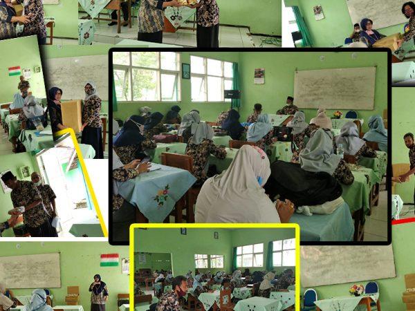 Rapat Dinas Semester Ganjil dan Purna Tugas Dra. Tyara