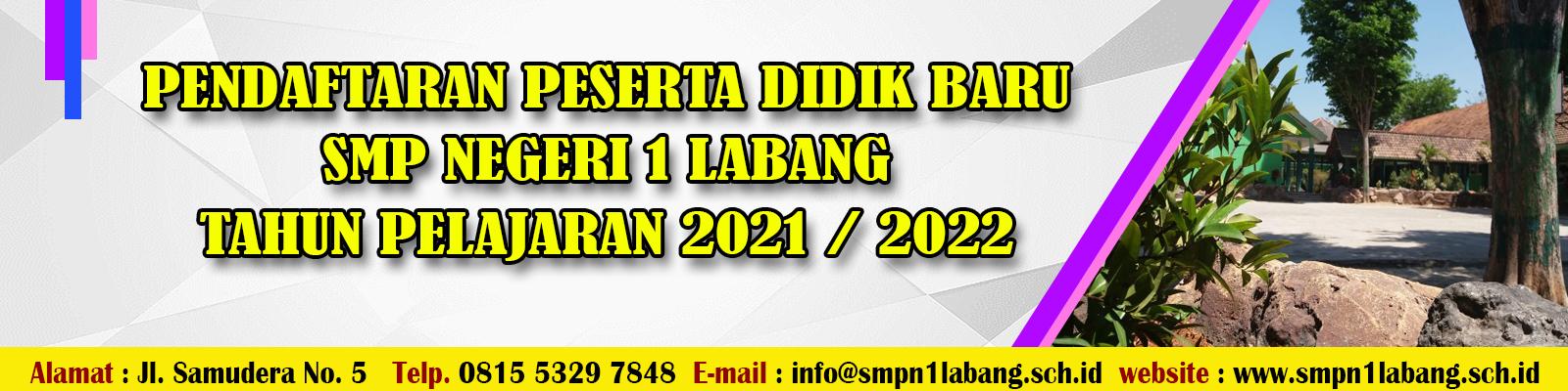Pengumuman Hasil PPDB UPTD SMP Negeri 1 Labang